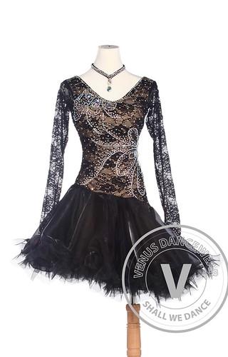 01009a13b360 Golden Elegant American Rhythm Salsa Rumba Latin Competition Dance Dress