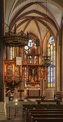 Marktkirche St. Cosmas und Damian in Goslar (ulrichcziollek) Tags: niedersachsen goslar kirche kirchenschiff altar