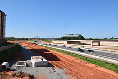 Broadway Ext. Construction (Andrew Penney Photography) Tags: beckconstruction allenconstruction odot dolese workzone concrete highway construction nance okc highwayworkers zone dirtwork