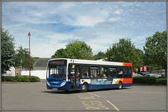 Stagecoach 36212 (Jason 87030) Tags: e200 enviro stagecoach midlands busstation northants northamptonshire lamp red white blue orange d2 rugby gateway service route sony alpha a6000 lens tag flickr fave album shot shoot june 2019 uk