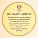 Hill Garden Shelter. This shelter was built by Lord Leverhulme as part of the Hill Garden and Pergola development (1905 - 25). It was used in conjunction with a tennis court which was located where the pond, built by the London County Council in 1963, now
