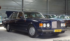 Bentley Turbo R 1990 (XBXG) Tags: zl18tf bentley turbo r 1990 v8 blue bleu bva auctions anthony fokkerweg uithoorn nederland holland netherlands paysbas youngtimer old classic british car auto automobile voiture ancienne anglaise uk brits vehicle indoor