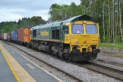 Freightliner Class 66/5 66506 - Chesterfield (dwb transport photos) Tags: freightliner locomotive 66506 creweregeneration chesterfield