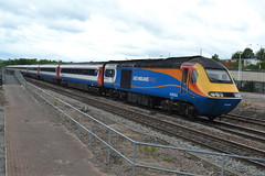 East Midlands Trains Class 43 43054 - Chesterfield (dwb transport photos) Tags: eastmidlandstrains hst locomotive 43054 chesterfield