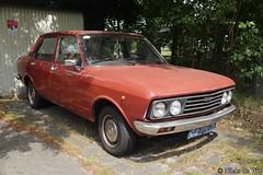 1977 Fiat 132 GL 1600 (NielsdeWit) Tags: nielsdewit car vehicle 08pn76 favourite fiat 132 1977 gl 1600 den bosch shertogenbosch red youngtimer