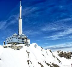 2770  Pic du Midi de Bigorre, Pirineo Francés (Ricard Gabarrús) Tags: bigorre nieve obsevatorio altura montaña astronomia astronomico pico antena ricardgabarrus ricgaba olympus