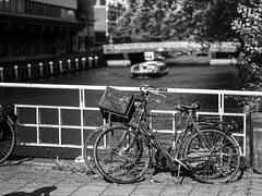 Old bikes (o.albrecht) Tags: bike amsterdam blackandwhite old