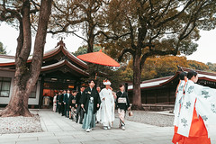 Shinto traditional wedding (Hadi Al-Sinan Photography) Tags: japan tokyo shinto meiji temple shrine haditravels haditravelsjapan instajapan best urban explore canon 5d 5dmarkiv