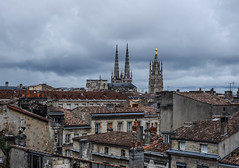 Towards the Cathedral of Saint Andrew (MikeTheExplorer) Tags: bordeaux france europe travel traveling traveler wanderlust explore discover city citytrip fujifilm fujifilmxt100 camera composition light contrast color colorful colors architecture building buildings