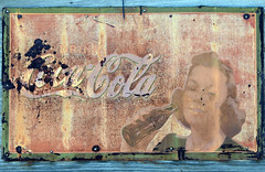 stony texas (Tear Drop Reflections Photography) Tags: stonytexas stony texas ghostsign cocacola