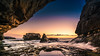 Rocky Sunset II (K.H.Reichert [ ... ]) Tags: dwejra meer sonnenuntergang clouds gozo himmel ocean felsen sunset sky rocks wasser malta bluehole sea coast wolken bucht
