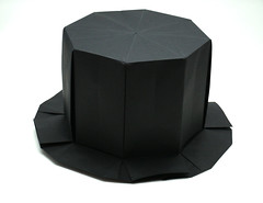 Top Hat (wilson_origami) Tags: origami paperfolding paper hat tophat