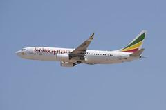 Ethiopian Airlines B738, ET-AQM, TLV (LLBG Spotter) Tags: aircraft b737 tlv airline etaqm ethiopianairlines llbg