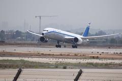 El Al Israel Airlines (Retro Livery) B789, 4X-EDF, TLV (LLBG Spotter) Tags: elal b787 airline tlv 4xedf special aircraft llbg