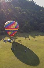 "Sunrise Inflation (Yer Photo Xpression) Tags: ""ron mayhew"" balloon helen georgia ""north georgia"" ""hot air balloon"" dji ""magic pro"" aerial festival"
