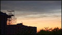 Northwest Sunset (Rex Block) Tags: nikon d750 dslr 85mm f18g dc washington sky sunset may scaffolding northwest ekkidee northwestsunset