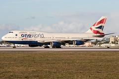 G-CIVL / British Airways / Boeing 747-436 (Charles Cunliffe) Tags: canon7dmkii aviation miamiinternationalairport kmia mia britishairways baw ba boeing747 747400 gcivl