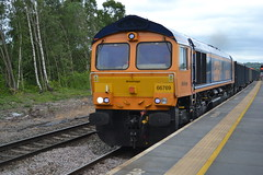 GBRf Class 66/7 66769 - Chesterfield (dwb transport photos) Tags: gbrf locomotive 66769 chesterfield