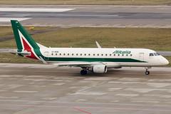 EI-RDB (GH@BHD) Tags: eirdb embraer erj erj175 az aza alitalia alitaliacityliner regionaljet aircraft aviation airliner zurichairport zurich kloten zrh lszh