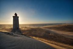 dancing sand (Knee Bee) Tags: rubjergknudefyr denmark dänemark sand sandstorm sandsturm wanderdüne decay abandoned