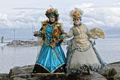 Parade vénitienne Yvoire 2019 (joménager) Tags: nikonpassion nikond3 nikonafs70200f28 carnaval vénitien yvoire hautesavoie masque costume