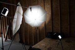 Video setup with LED & Umbrellas (jherg424) Tags: home ledlights montague nj productvideo studioshots tl600s pictype studio video warehouse