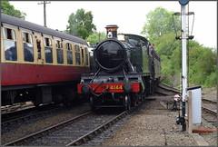Severn Valley Railway, Arley (dpark_uk) Tags: severn valley railway arley worcestershire large prarie steam locomotive gwr