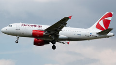 Eurowings (Czech Airlines) Airbus A319-112 OK-NEM (StephenG88) Tags: londonheathrowairport heathrow lhr egll 27r 27l 9r 9l boeing airbus may20th2019 20519 myrtleavenue renaissanceheathrow eurowings ewg ew czech airlines czh a319 a319100 a319112 oknem