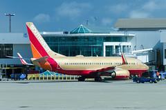 IMGP9809_N711HK_CVG (ClydeSights) Tags: desertgold livery theherbertdkelleher 7377h4w 73g airport b737 boeing boeing737700 cvg cincinnatinorthernkentuckyinternationalairport kcvg n711hk southwestairlines cn27845 retro