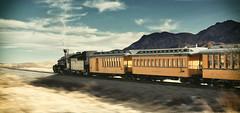Durango Train (brian_stoddart) Tags: trains transport steam desert colour sky speed composite usa travel