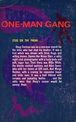 Chevron Books 122 - Jack Woods - One-Man Gang (back) (swallace99) Tags: chevron vintage 60s sleaze paperback
