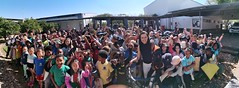After speaking to Years 1-5 and 6-8 at Windhoek International School