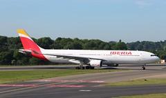 EC-LUB Airbus A330-302 Iberia (R.K.C. Photography) Tags: eclub airbus a330 a330302 aircraft aviation airliner iberia ib ibe luton bedfordshire england unitedkingdom uk londonlutonairport ltn eggw canoneos100d