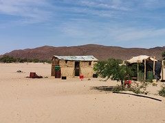 Houses in Puros, the village we plan to electrify with solar power in September
