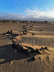 Strandloper archeological site - the remnants of temporary shelters constructed by strandlopers, the beachcoming San that roamed in this region until a century ago.
