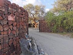 Entrance to Puros Bush Lodge