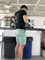 Pirate aboard?  Young man at concession stand, Potomac River cruise, Washington, D.C. (Paul McClure DC) Tags: washingtondc districtofcolumbia june2019 people boat potomacriver