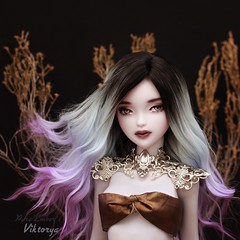 Silver (pure_embers) Tags: pure embers bjd msd 14 doll dolls uk youpladolls vana youpla girl viktorya pureembers embersviktorya photography photo ball joint white purple resin portrait silver tears bronze