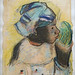Tête de femme, Martinique de Paul Gauguin (musée d'Orsay, Paris)