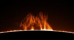 Prominence (plndrw) Tags: prominence powermate prominenceha prominencehasun ha hydrogenalpha zwo televue sun solar