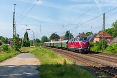 MEH V200 033 + Sonderzug (Durk Houtsma.) Tags: diesellok aschendorf 2200335 220033 meh v200 v200033 umbau papenburg nedersaksen duitsland