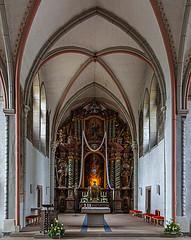 St. Jakobus der Ältere in Goslar (ulrichcziollek) Tags: stjakobus goslar niedersachsen kirche kirchenschiff gotik gotisch gewölbe
