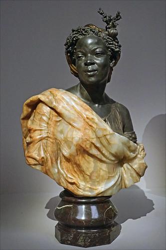 Femme des colonies de Charles Cordier (musée d'Orsay, Paris)