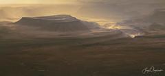 Sunrise glow (Jerzy Orzechowski) Tags: fishriver sunrise namibia mist layers landscape moody canyon yellow orange rocks elitegalleryaoi bestcapturesaoi aoi