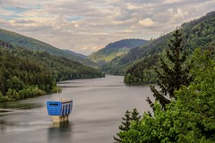 Dam in Beskydy mountains, Czech republic (zitrapadnouvrcholy) Tags: nature dam mountains republic czech water scenery view landscape landscapephotography canon