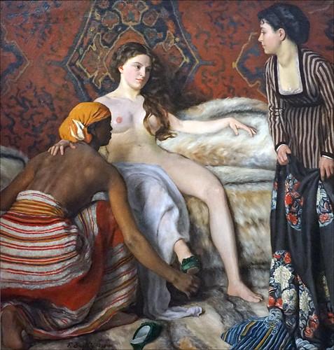"""""""La Toilette"""" de Frédéric Bazille (musée d'Orsay, Paris)"""