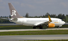 JetTime OY-JTT, OSL ENGM Gardermoen (Inger Bjørndal Foss) Tags: oyjtt jettime boeing 737 osl engm gardermoen