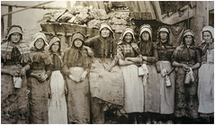 Pit brow women Blue Fly Pit Wednesbury c 1890 (Pitheadgear) Tags: miners mining pit pits coalmining coalindustry coalminers coal wednesbury blueflypit socialhistory westmidlands blackcountrymuseum pitbrowwomen miningwomen