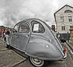 Expo Rétro Pavilly 30/05/2019 (association IM@GE) Tags: sony ilca77m2 hdr fish eye voiture automobile collection retro véhicule ancien exposition citroen 2cv