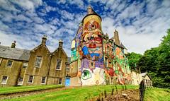 Quiet Country Retreat (6tnhpekfg29) Tags: weird paint castle kelburn brazilian art scenio wow strange odd